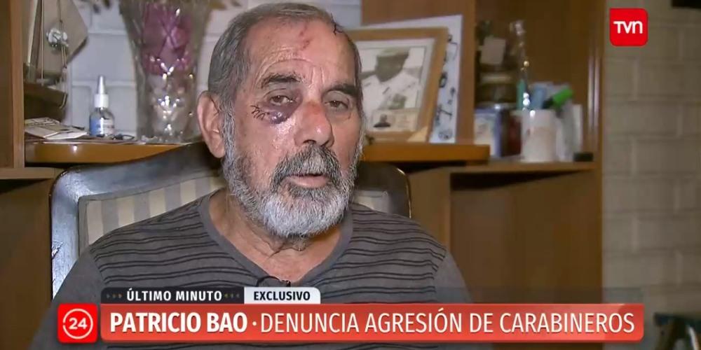 Patricio Bao carabinero