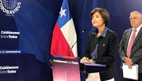 Paula Daza Jaime Mañalich coronavirus