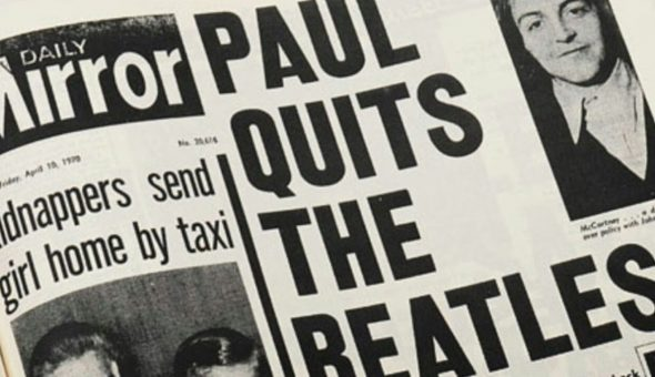 Paul Quits The Beatles Web Ok