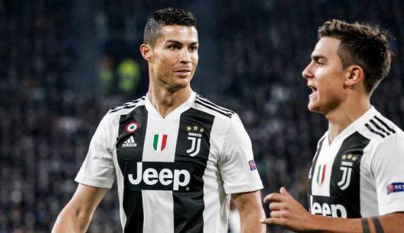 Ronaldo Dybala positivo