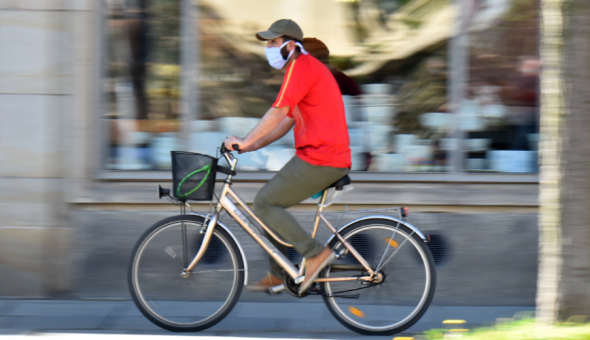 bicicleta pandemia