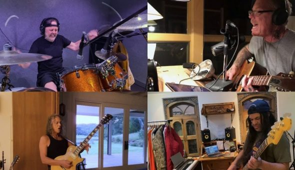Metallica cuarentena
