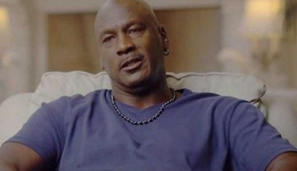 Michael Jordan agua