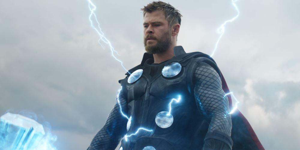 Thor chasquido Avengers Endgame