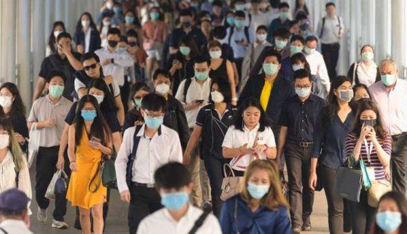 monstruo pandemia Covid-19