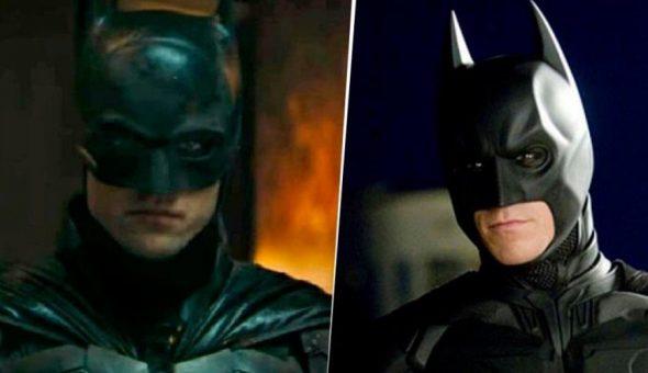 Bale Pattinson Batman