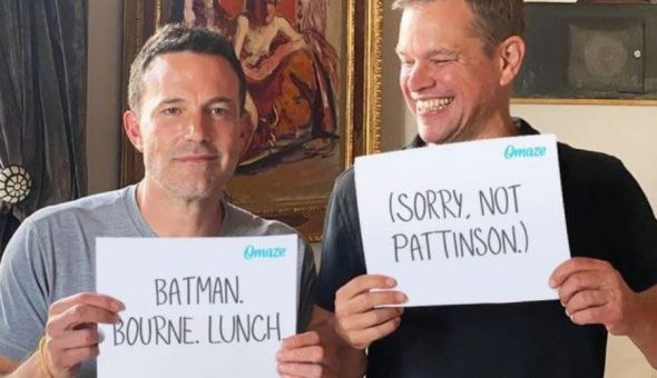 Benn Affleck Matt Damon Batman
