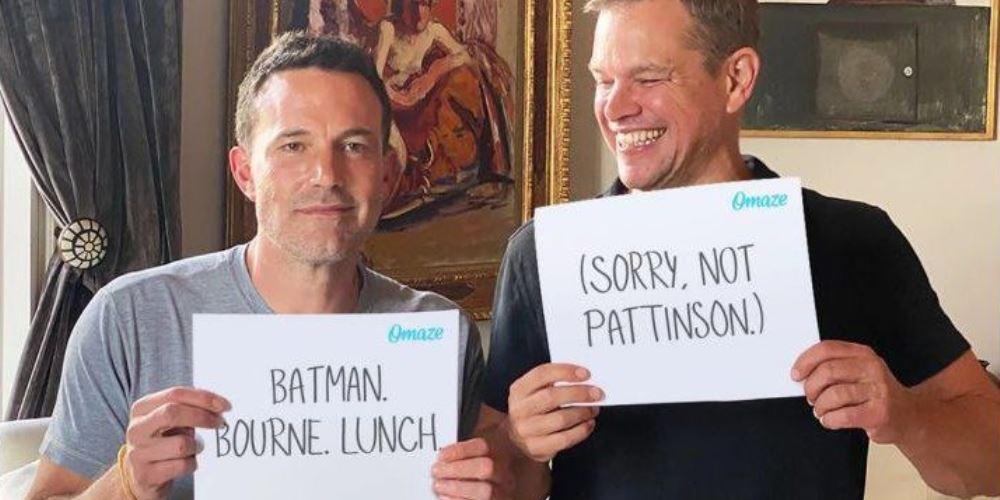 Benn Affleck Matt Damon Batman