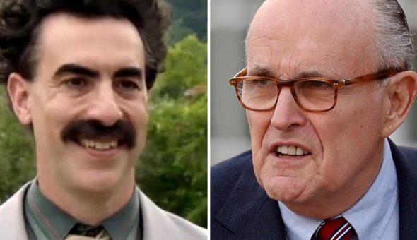 Borat abogado Trump