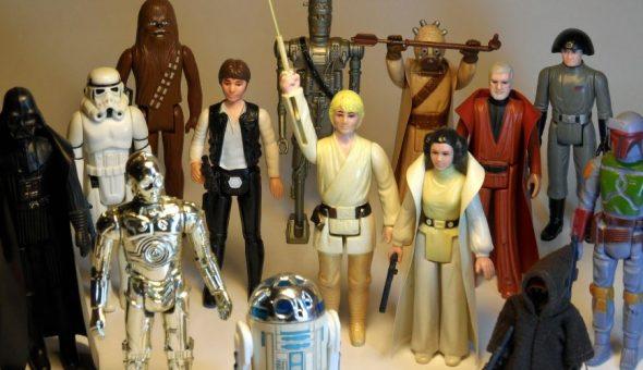 """Encuentran en la basura juguetes de """"Star Wars"""" avaluados en medio millón  de dólares"""