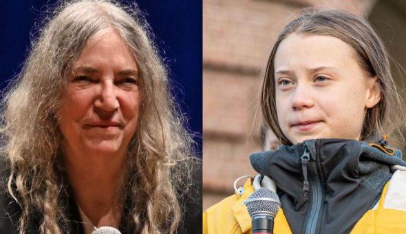 "Patti Smith elogia a Greta Thunberg: ""Sacrificó su infancia por todos nosotros"""