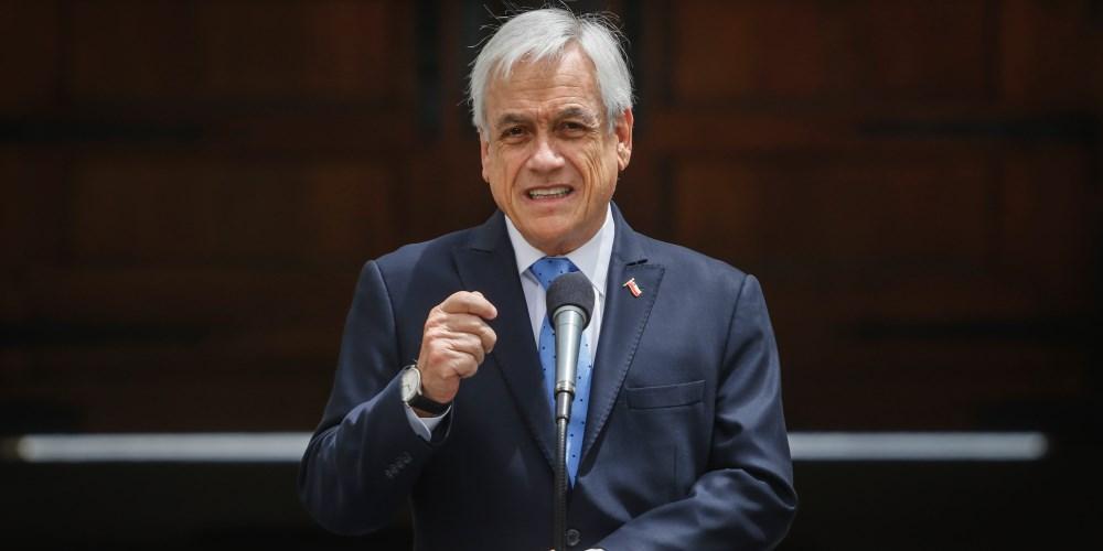 segundo retiro Piñera