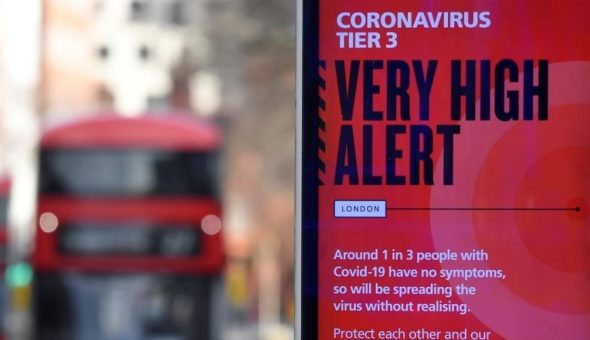 coronavirus Reino Unido cepa