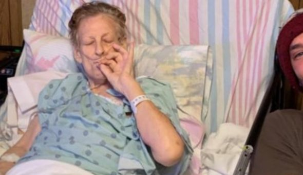 """El mejor porro en toda mi vida"""": Nieto viajó 14 horas para fumar marihuana  con su abuela por última vez"""