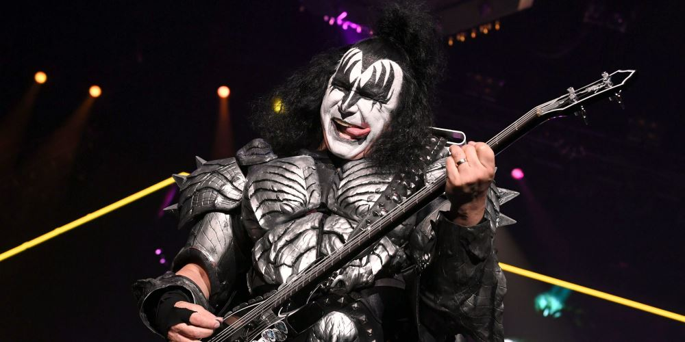 Gene Simmons Kiss rock