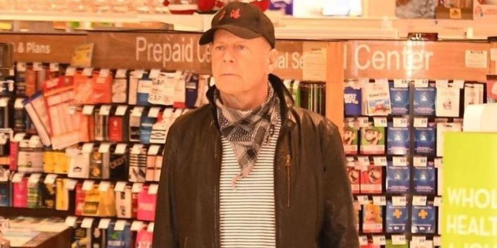 Bruce Willis mascarilla