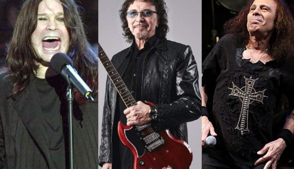 Tony Iommi Dio Ozzy