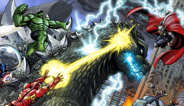 Avengers Vs Godzilla