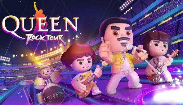 Queen Rock Tour el nuevo videojuego de celulares de Queen