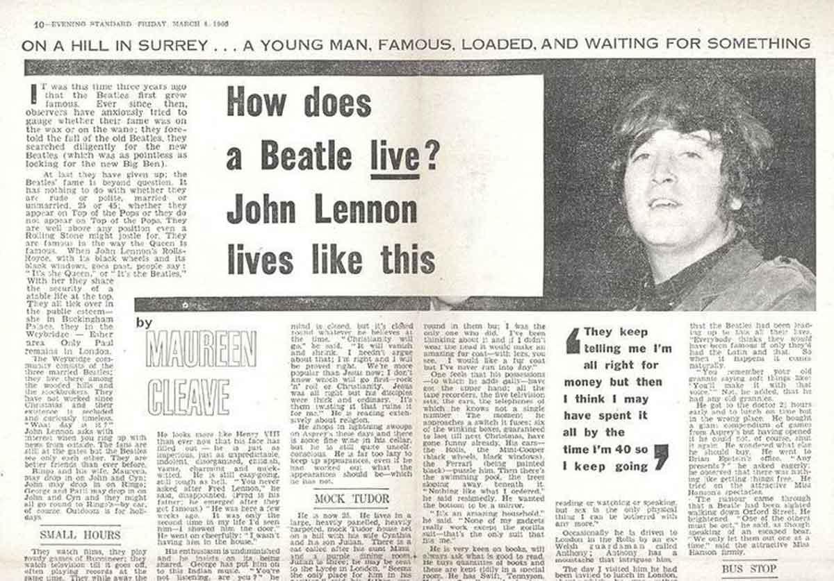 John Lennon 1966 Jesus
