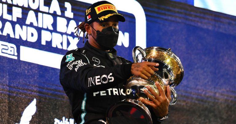 Lewis Hamilton Formula 1 2021 Getty Web