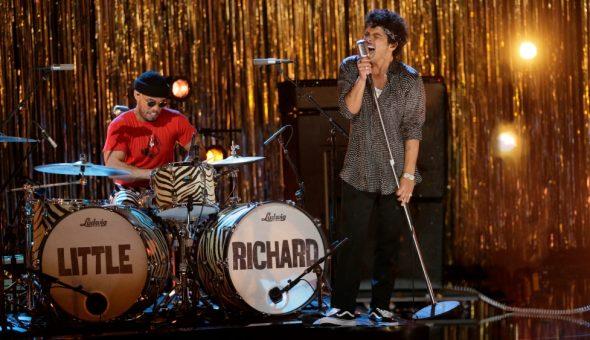 Little Richard Bruno Mars Grammy Web