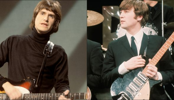 Ray Davies John Lennon Kinks Beatles