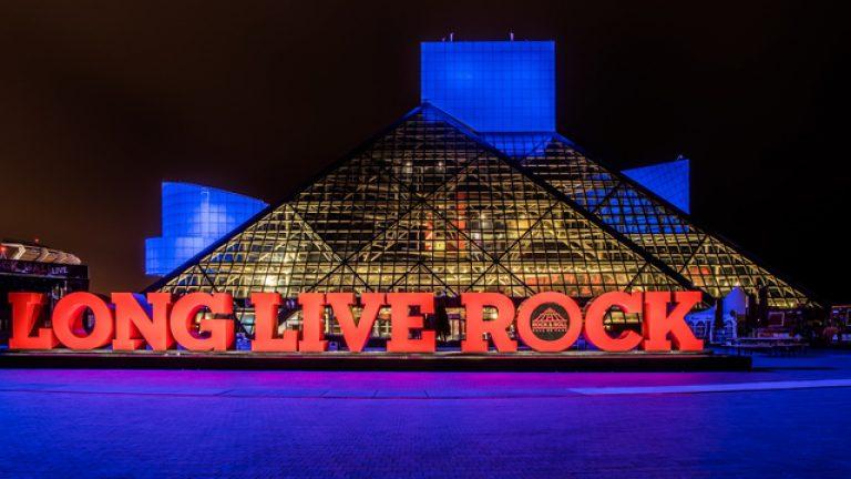 rock hall salón Cleveland