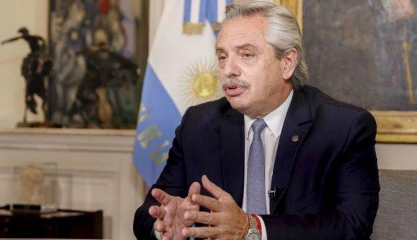 Alberto Fernández dio positivo en test de antígenos por Covid-19