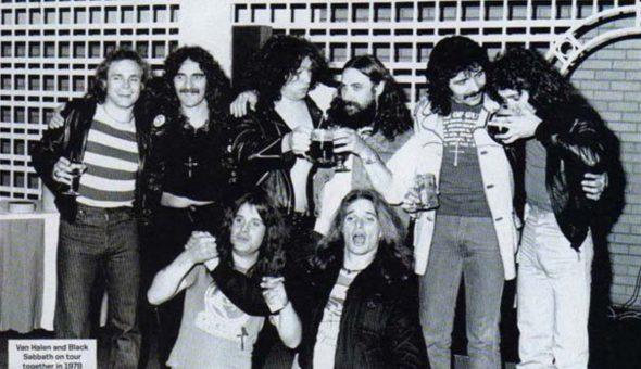 """Black Sabbath le dijo """"comportate"""" a Eddie Van Halen en la gira de 1978"""