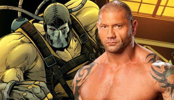 Dave Bautista se reunió con Warner Bros para interpretar a Bane