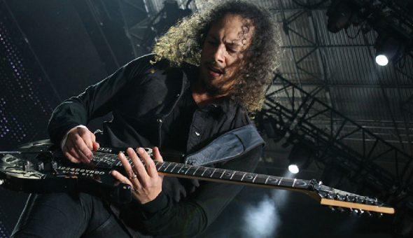 """La guitarra """"tabla de Ouija"""" de Kirk Hammet está a la venta"""
