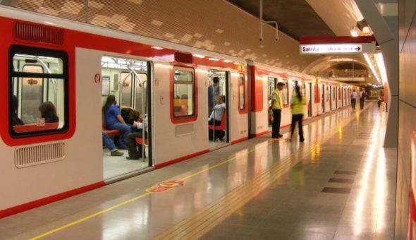 Estos son los nuevos horario del Metro De Santiago