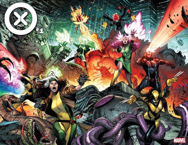 Marvel presenta una nueva formación de los X-Men