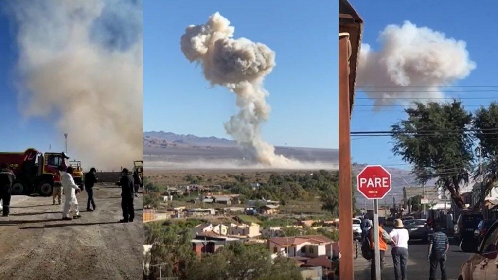 Calama Planta Explosion Web