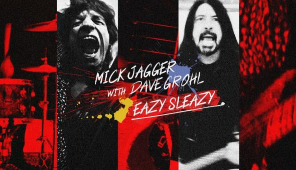 Mick Jagger Dave Grohl Eazy Sleazy