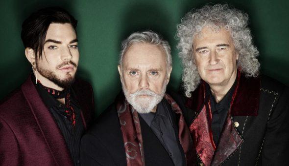 Adam Lambert, Brian May, Roger Taylor