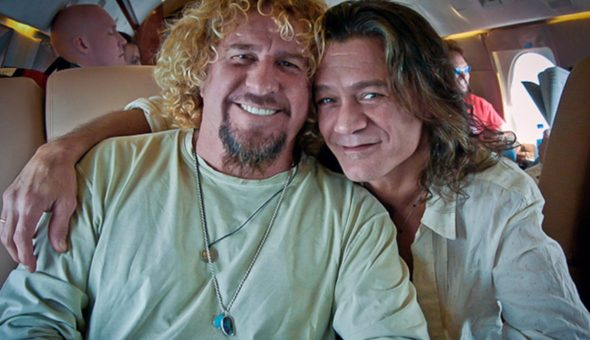 Sammy Hagar And Eddie Van Halen Circa 2004