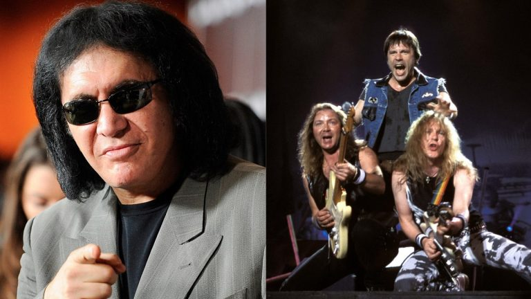 Gene Simmons Iron Maiden Salón Rock