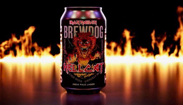 Iron Maiden Hellcat Cerveza
