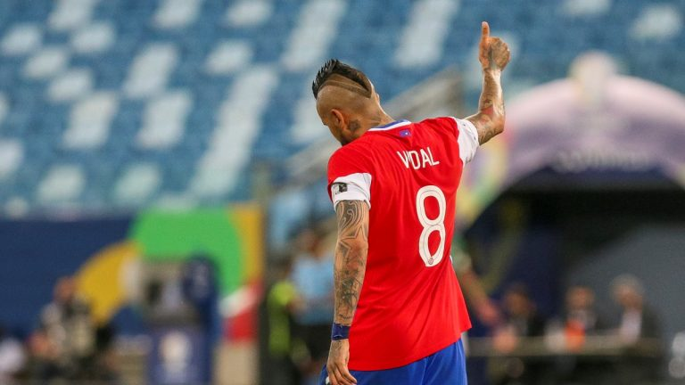 Arturo Vidal Chile Bolivia Copa América