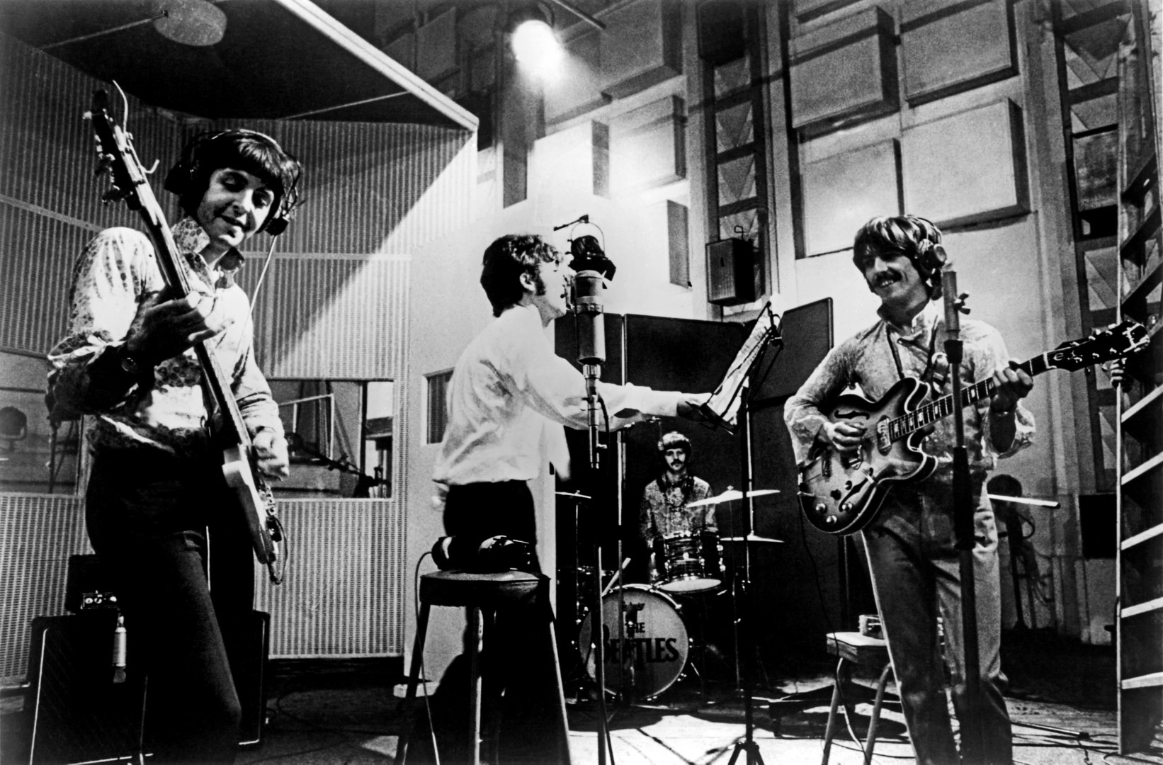 """Beatles Rehearse """"All You Need Is Love"""""""