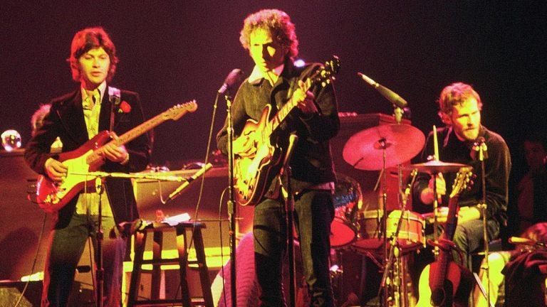 Bob Dylan 1974 The Band