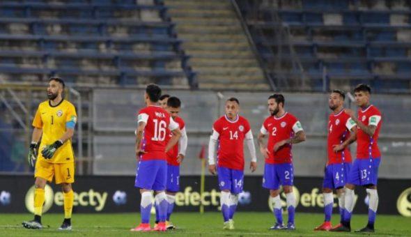 Chile La Roja Entrenamiento