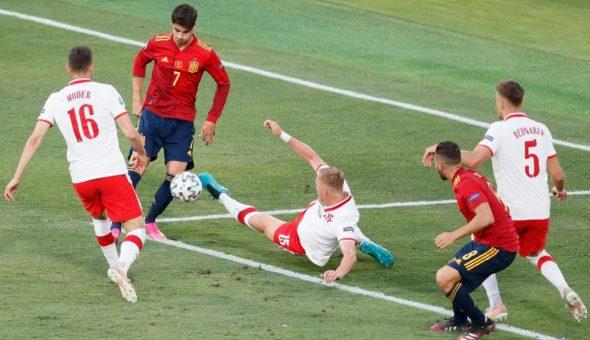 España Polonia Eurocopa