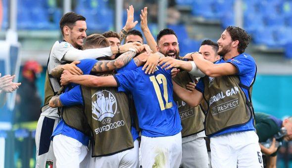 Italia Gales Eurocopa