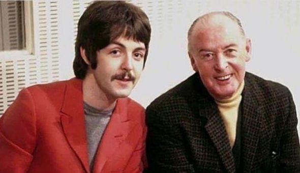 Paul Mccartney con su padre