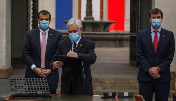 Piñera Sesion Convencion Constitucional
