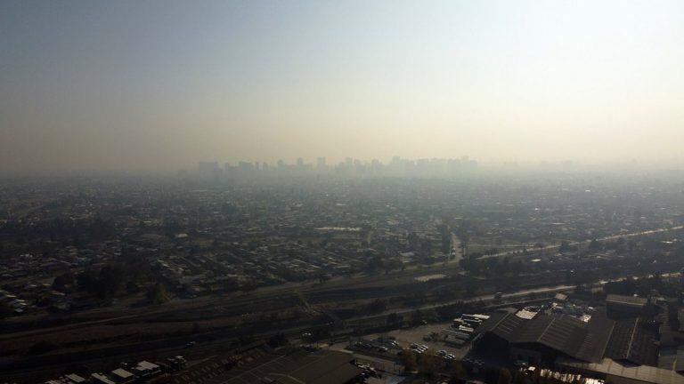 Alerta Ambiental Región Metropolitana Santiago