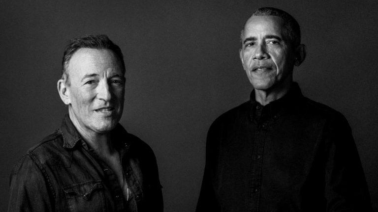 Bruce Springsteen Barrack Obama 2021